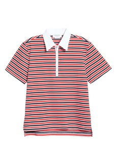 Thom Browne Stripe Cotton Polo Shirt (Nordstrom Exclusive)