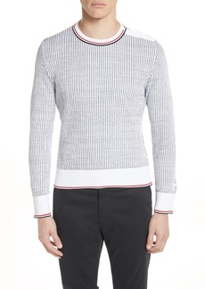 Thom Browne Stripe Crewneck Sweater