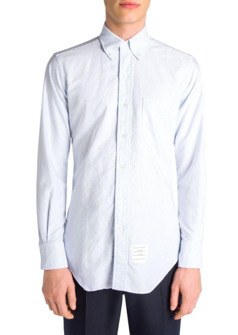 2fd87c61c94 Thom Browne Thom Browne Striped Long Sleeve Shirt | Casual Shirts
