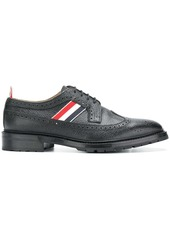 Thom Browne Tricolor Webbing Classic Longwing Brogue