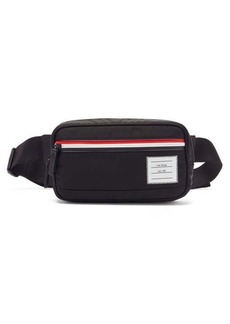 Thom Browne Tricolour-stripe canvas cross-body bag