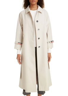 Thom Browne Waterprood Twill Coat