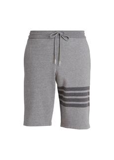 Thom Browne Three Striped Jogger Shorts