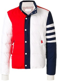 Thom Browne tricolour padded jacket