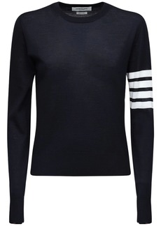 Thom Browne Virgin Wool Knit Sweater