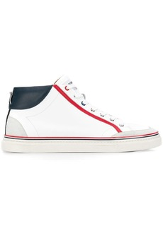 Thom Browne Vitello Leather Hi-top Trainer