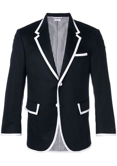 Thom Browne Wide Lapel Cashmere Sport Coat