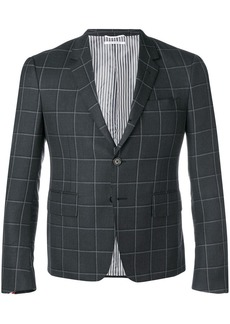 Thom Browne Windowpane Shadow Check Sport Coat