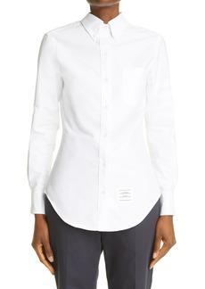 Women's Thom Browne Cotton Button-Down Shirt