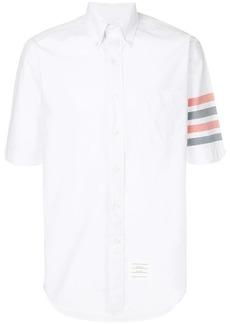 Thom Browne Woven 4-Bar Armband Poplin Shirt