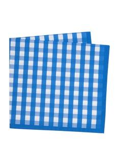 Thomas Pink Gingham Print Handkerchief