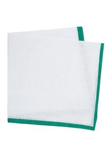 Thomas Pink Linen Handkerchief
