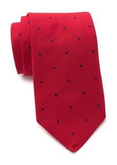 Thomas Pink Silk Birchill Spot Tie