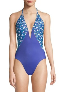 Thorsun Natalie Printed One-Piece Swimsuit