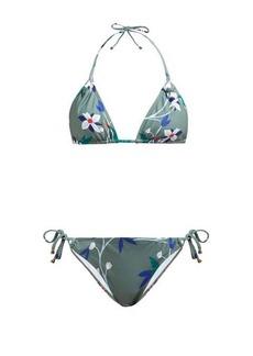 Thorsun Alex floral-print triangle bikini