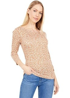 Three Dots 3/4 Sleeve British Printed Tee