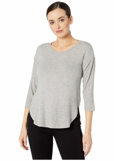 Three Dots Brushed Sweater 3/4 Sleeve