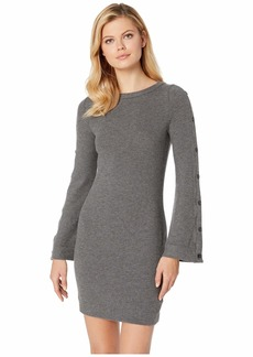 Three Dots Brushed Sweater Dress