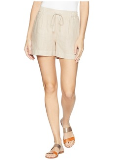 Three Dots Cambria Linen Shorts