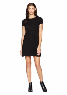 Three Dots Eco Knit Pocket T-Shirt Dress