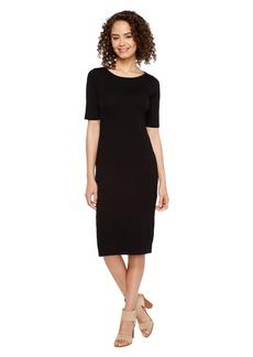 Three Dots Elbow Sleeve Dress