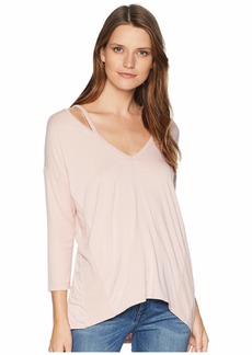Three Dots Ellie High Low Tunic
