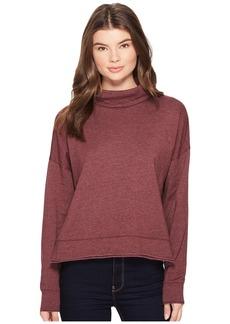 Three Dots Fleece Sweatshirt