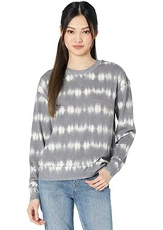 Three Dots French Terry Tie-Dye Pullover