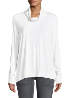 Three Dots Funnel-Neck Swing Top