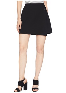 Three Dots Jeanie Wrap Skirt