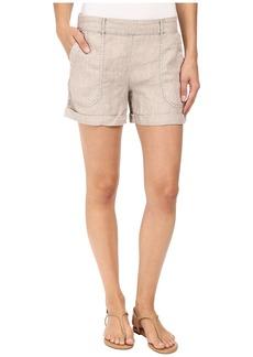 Three Dots Joyce Cuffed Shorts