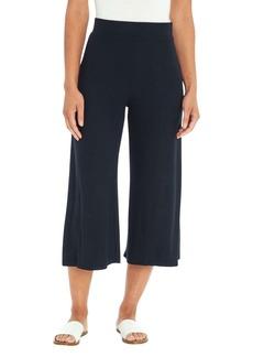 Three Dots Knit Wide Leg Cropped Pant