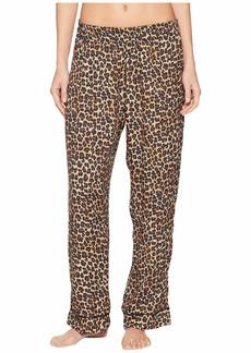 Three Dots Leopard Print PJ Pants