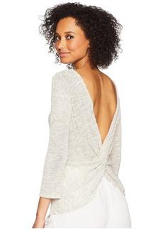 Three Dots Linen Sweater