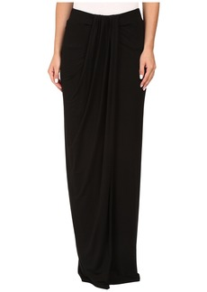 Three Dots Maxi Skirt w/ Drape
