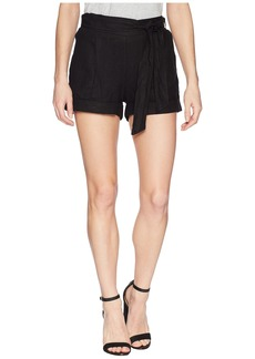 Three Dots Oana Linen Shorts