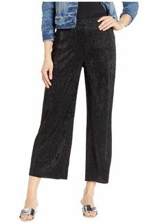 Three Dots Pleated Lurex Pants