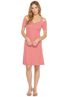 Three Dots Strap Cold Shoulder Dress