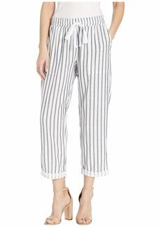 Three Dots Stripe/Dot Gauze Pants