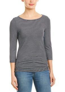 Three Dots 3/4-Sleeve British T-Shirt