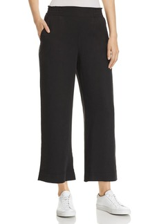 Three Dots All-Weather Cropped Twill Pants