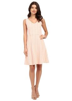 Three Dots Annabeth Fit & Flare Dress