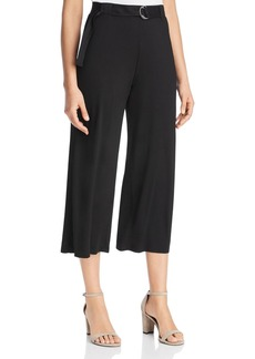 Three Dots Belted Jersey Culottes