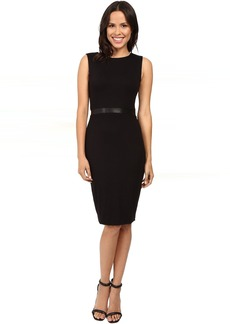 Three Dots Bodycon Double Zip Two Way Dress