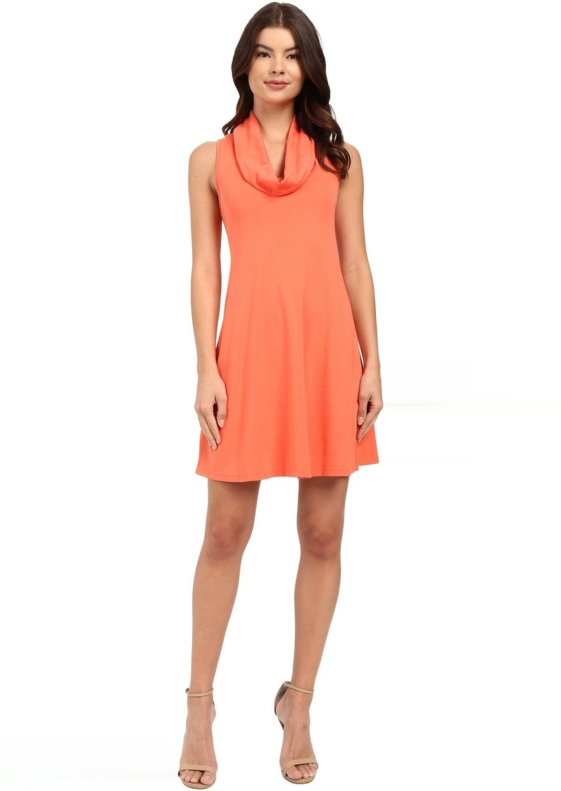 Three Dots Cowl Neck Tank Dress