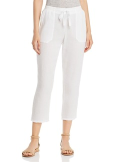 Three Dots Cropped Gauze Pants
