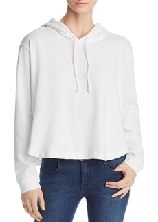 Three Dots Cropped Hoodie