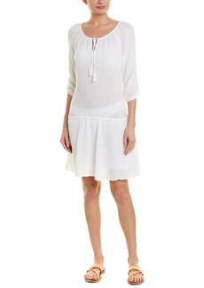 Three Dots Double Gauze Cover-Up Dress