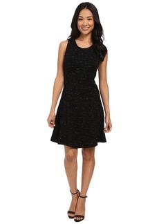 Three Dots Fit & Flare Dress