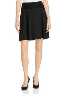 Three Dots Foldover Waist Skirt